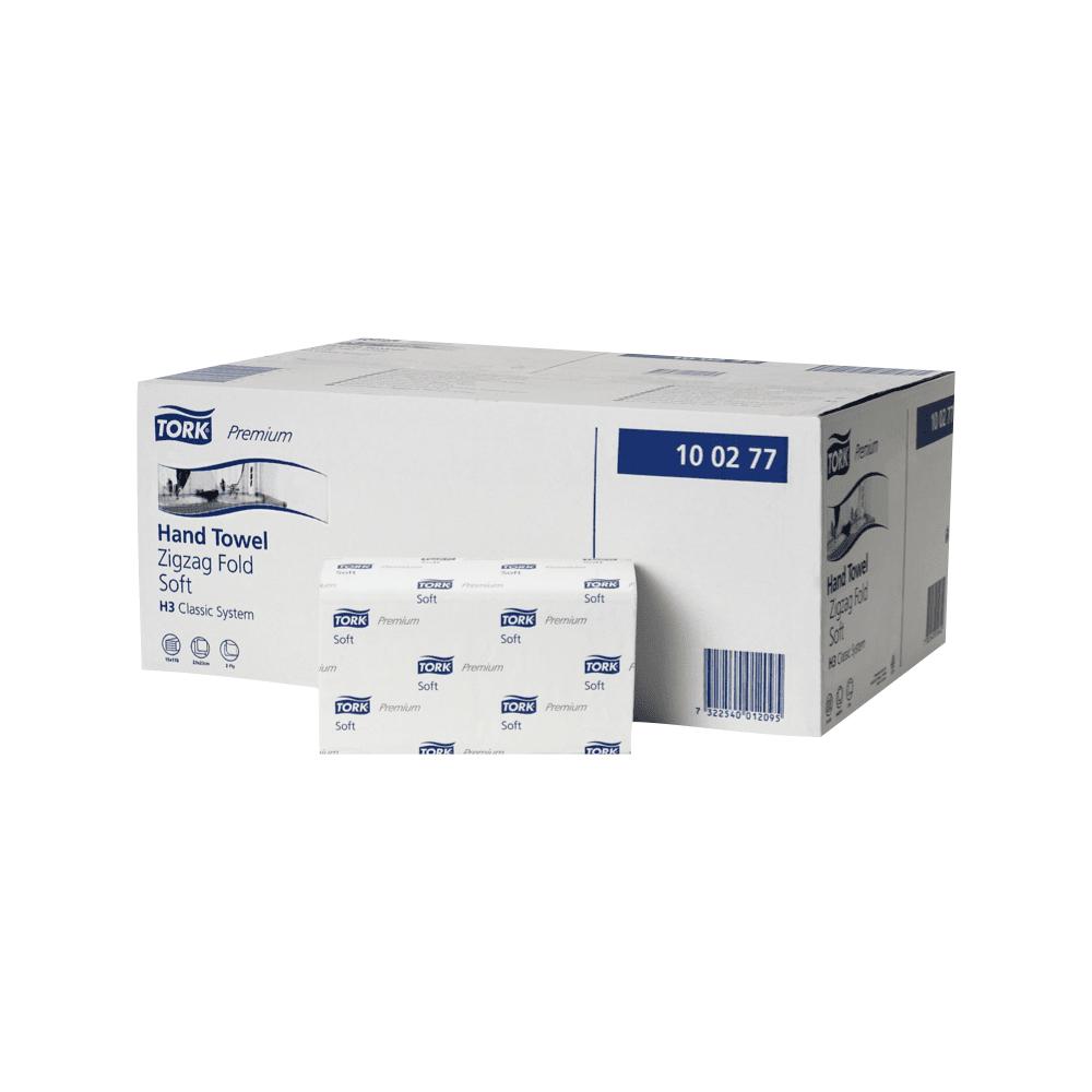Zložene brisače tip Z Premium soft Tork H3