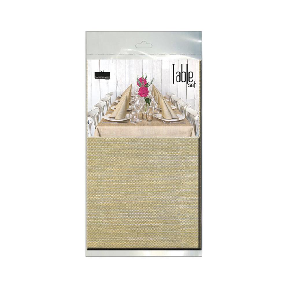 Papirnat prt Soft Touch Melange Oro SET  240 x 140 cm