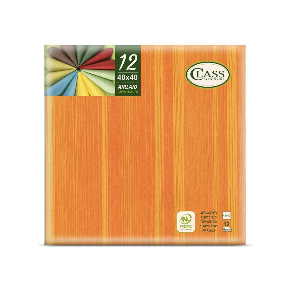 Papirnate serviete Airlaid Soul Arancio 40 x 40 cm