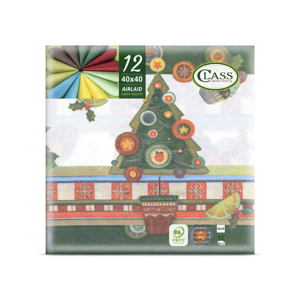 Papirnate serviete Airlaid Candies Multicolore 40 x 40 cm