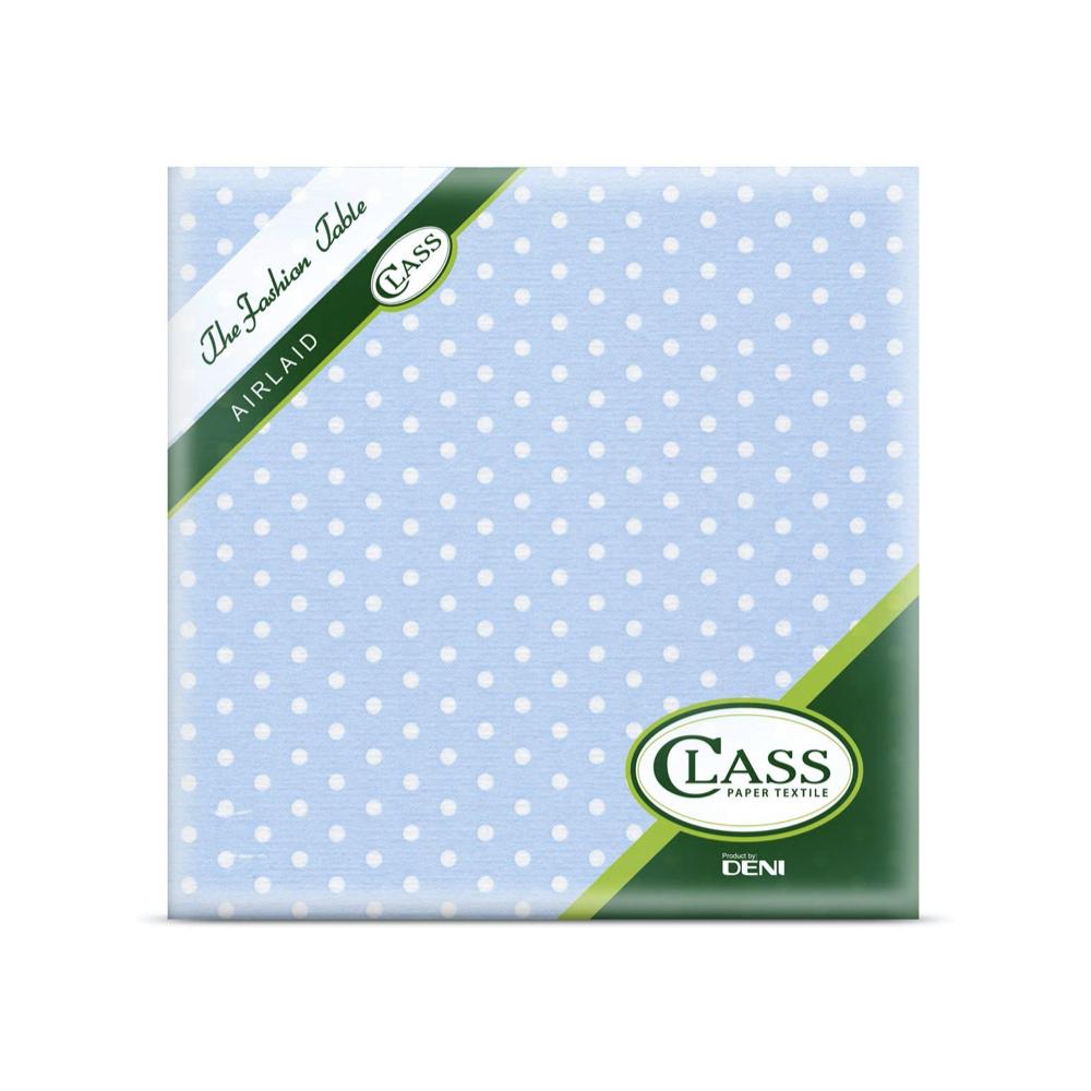 Papirnate serviete Airlaid Pois Caleste 40 x 40 cm
