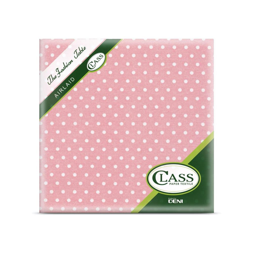 Papirnate serviete Airlaid Pois Rosa 40 x 40 cm