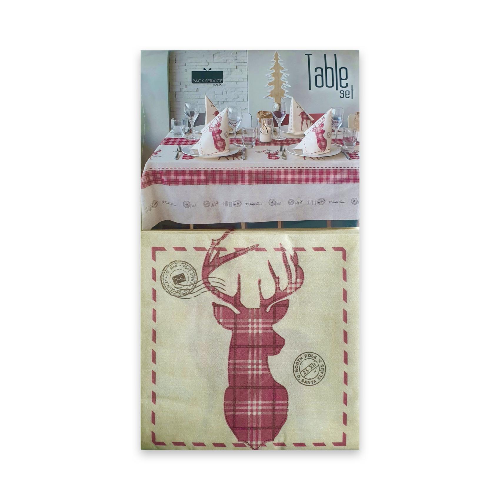 Papirnat prt Micro Santa Mail SET 240 x 140 cm