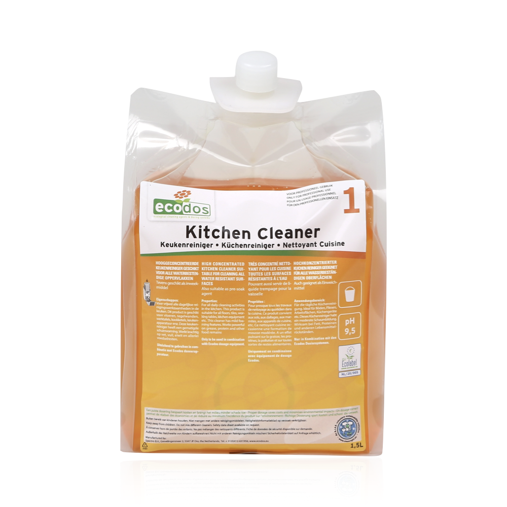 KITCHEN CLEANER ECODOS easy system