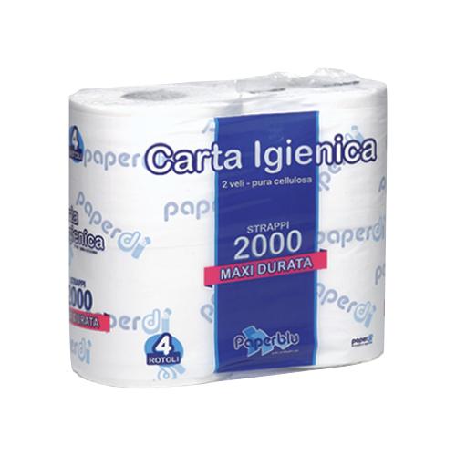 Toaletni papir v roli 2000 Paperdi