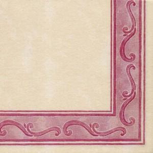 Papirnate serviete Riccio Bordeaux