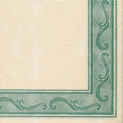 Papirnate serviete Riccio Verde