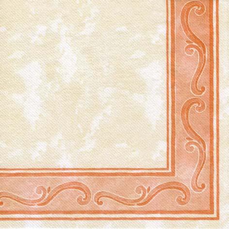 Papirnate serviete Riccio Terracotta