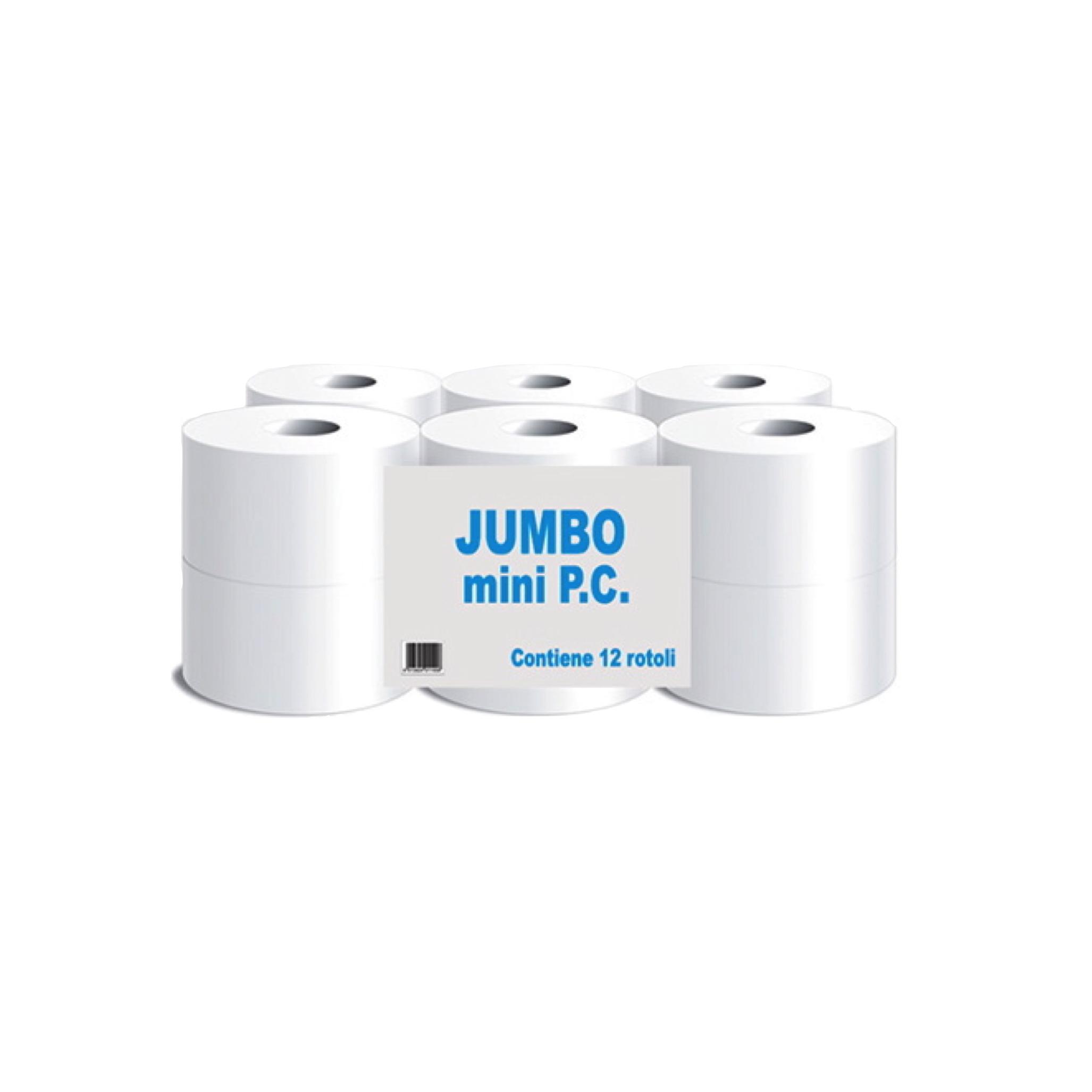 Toaletni papir Jumbo mini 2 sl.