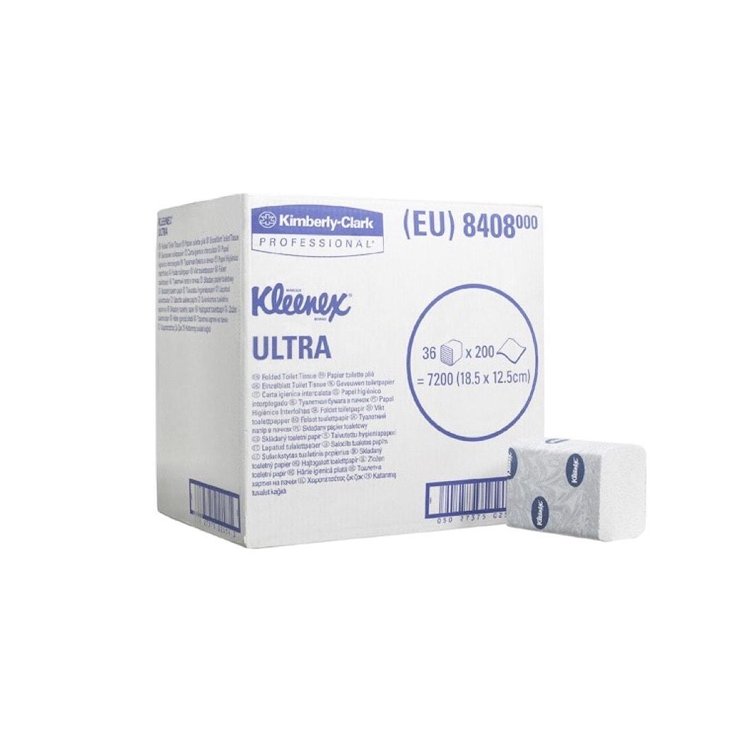 Toaletni lističi Kleenex Ultra Kimberly Clark 7200
