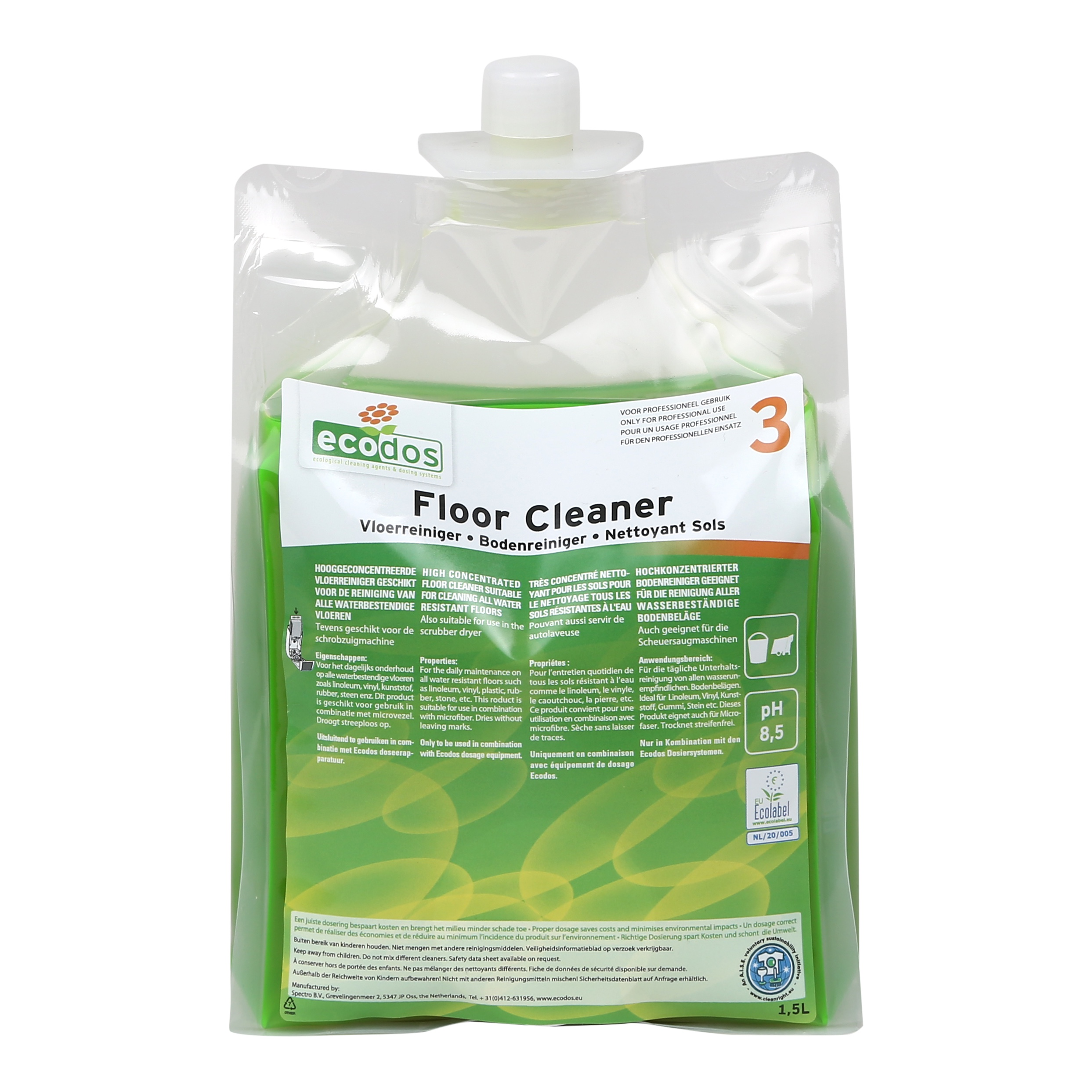 FLOOR CLEANER ECODOS easy system