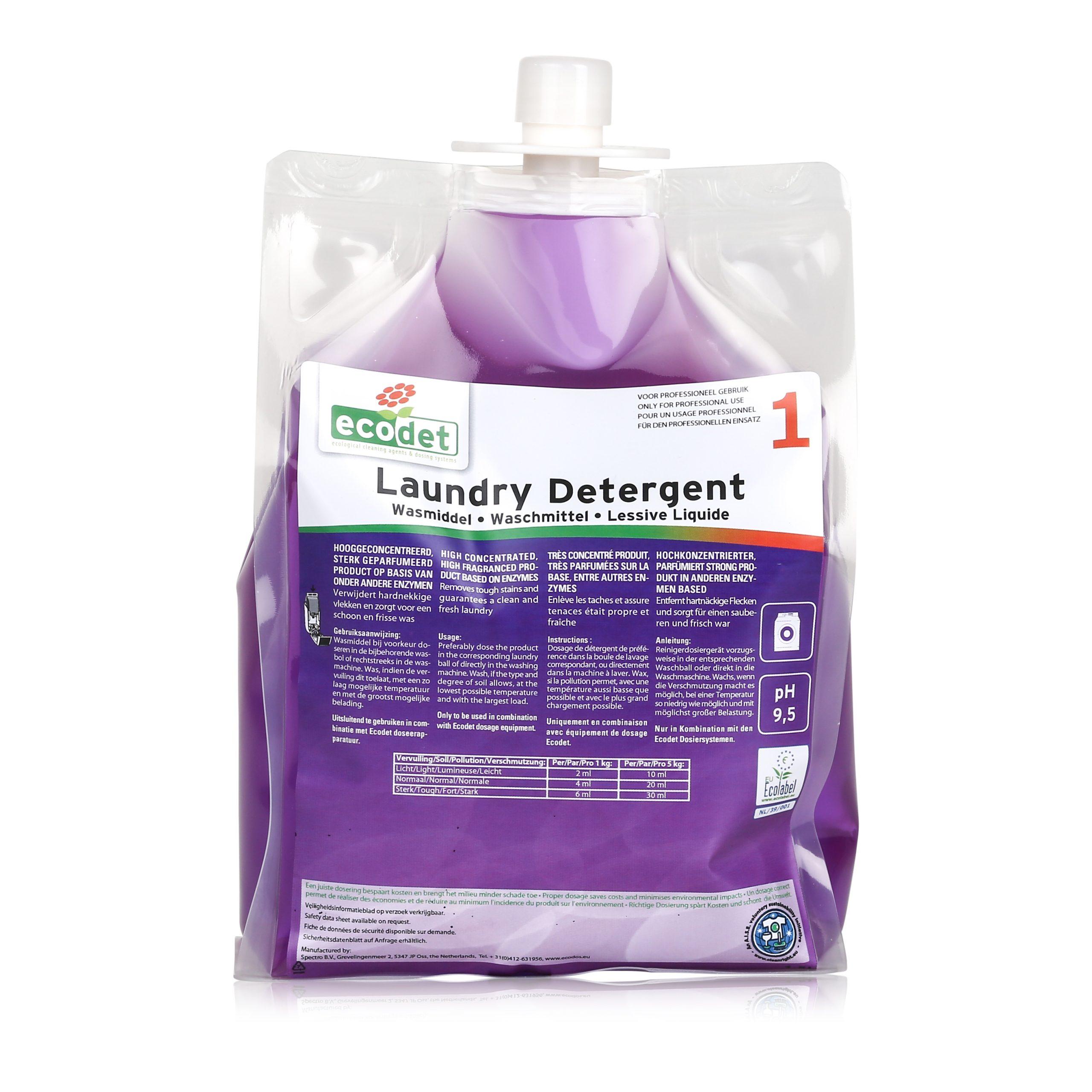 LAUNDRY DETERGENT SOFT ECODET easy system