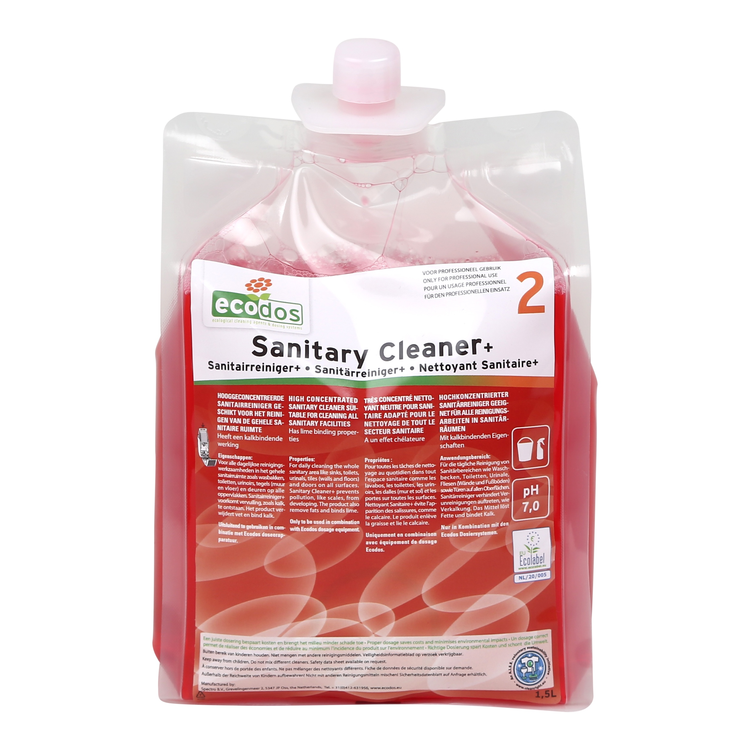 SANITAR CLEANER PLUS ECODOS easy system