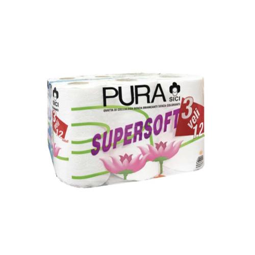 Toaletni papir Sici Supersoft 3 sl.