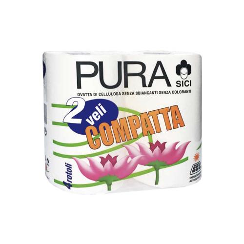 Toaletni papir Sici Compata 2 sl 512 lističev / rola, 4/1