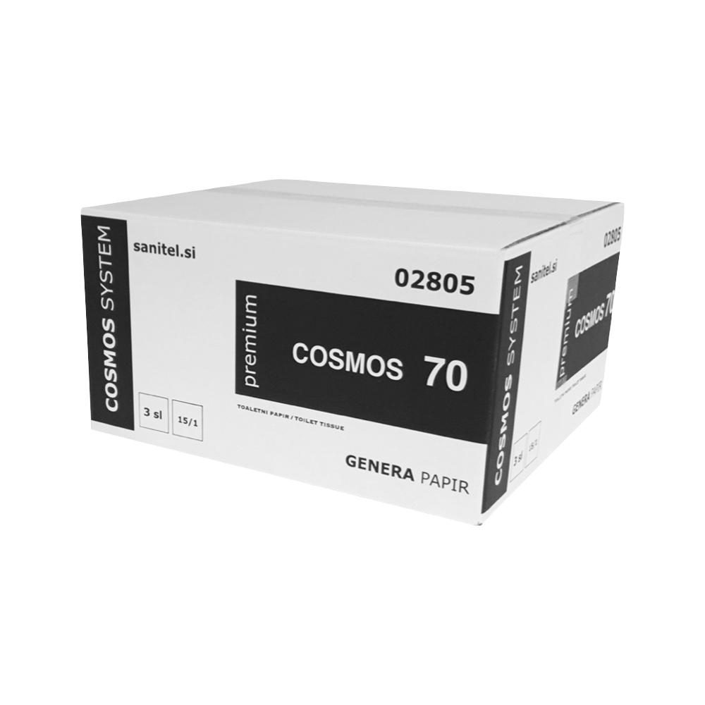 Toaletni papir v roli Cosmos 3 sl.
