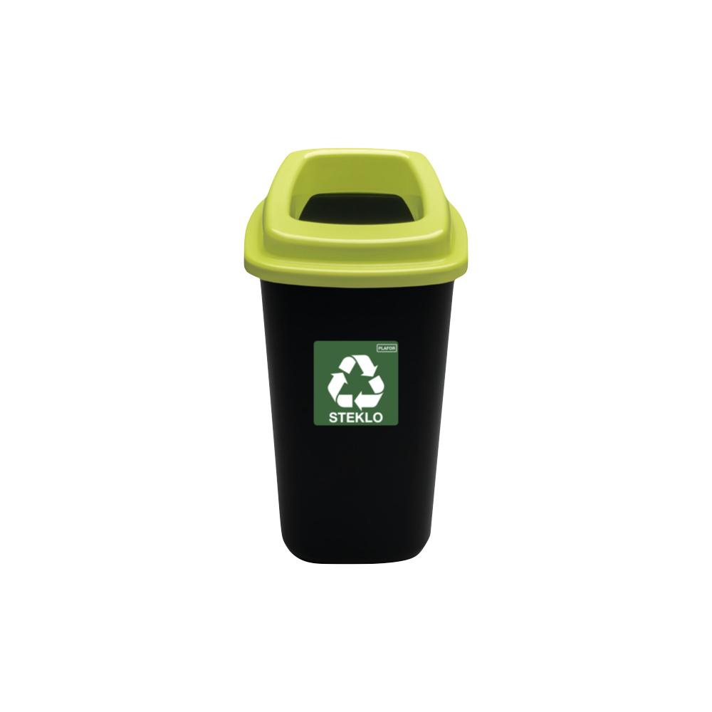 Koš za ločevanje odpadkov Plafor 28 L
