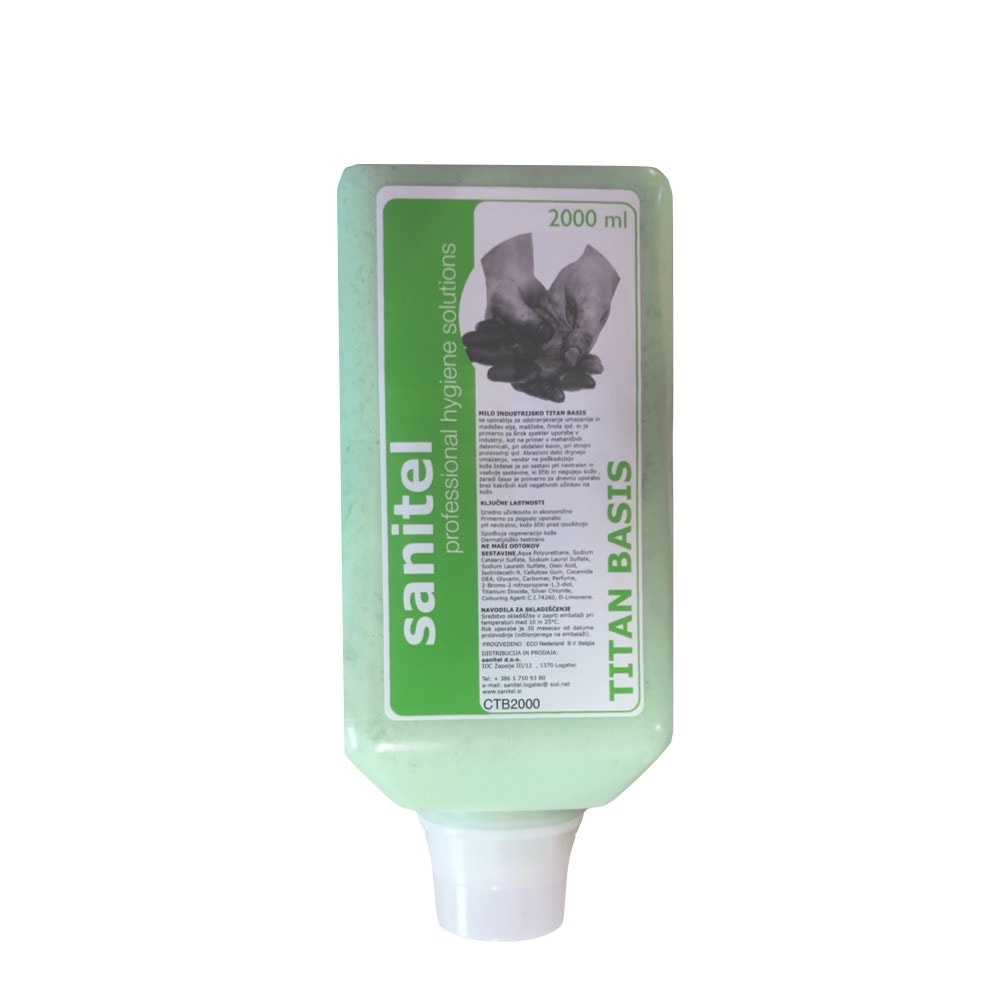 Industrijska pasta za roke Titan 2000 ml