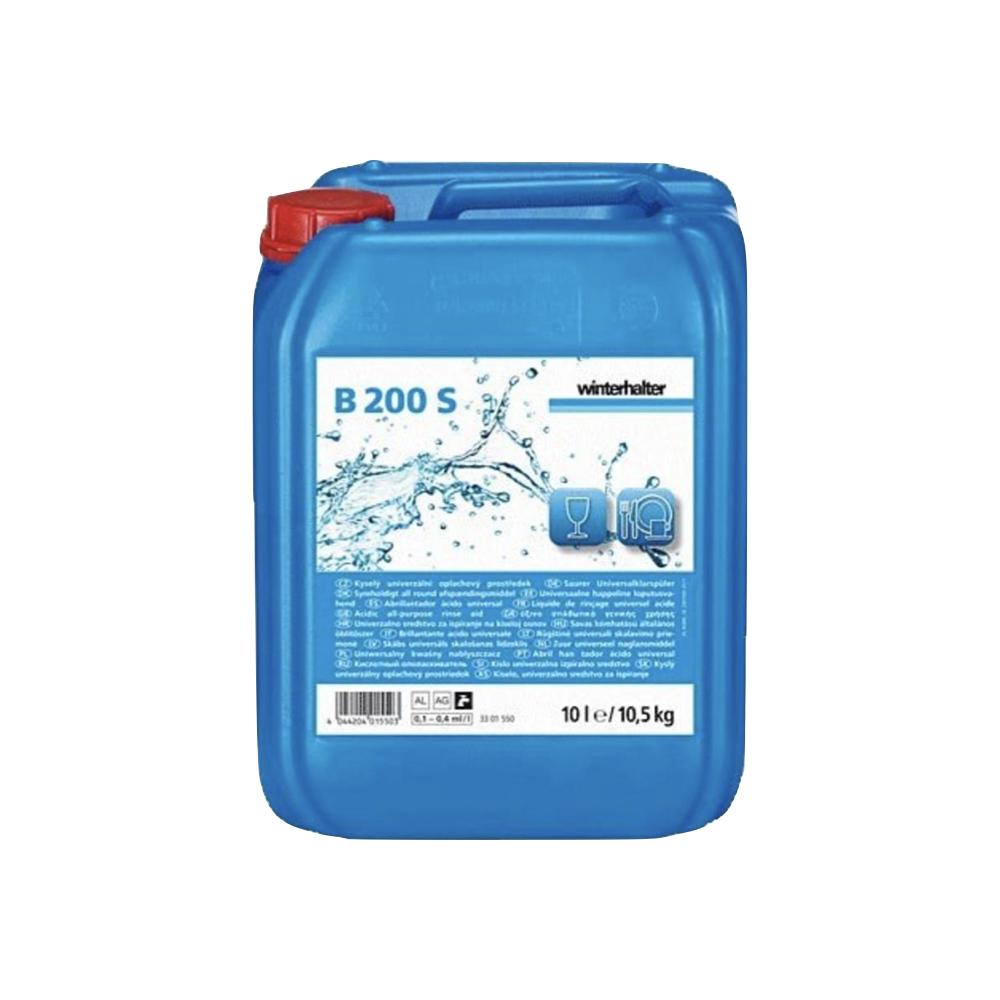 Tekoče sredstvo za učinek sijaja F200S Winterhalter 10,5 kg