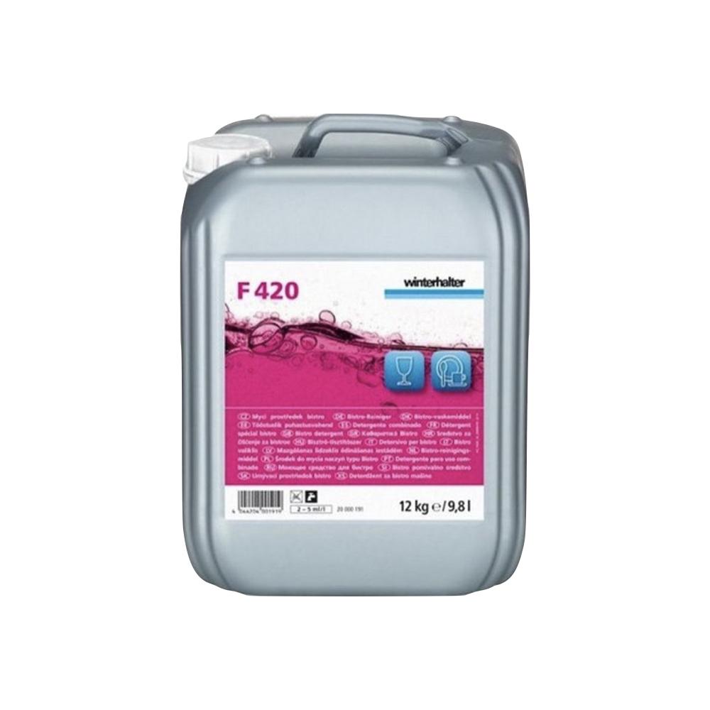 Sredstvo za steklenino in porcelan F420 Winterhalter 12 kg