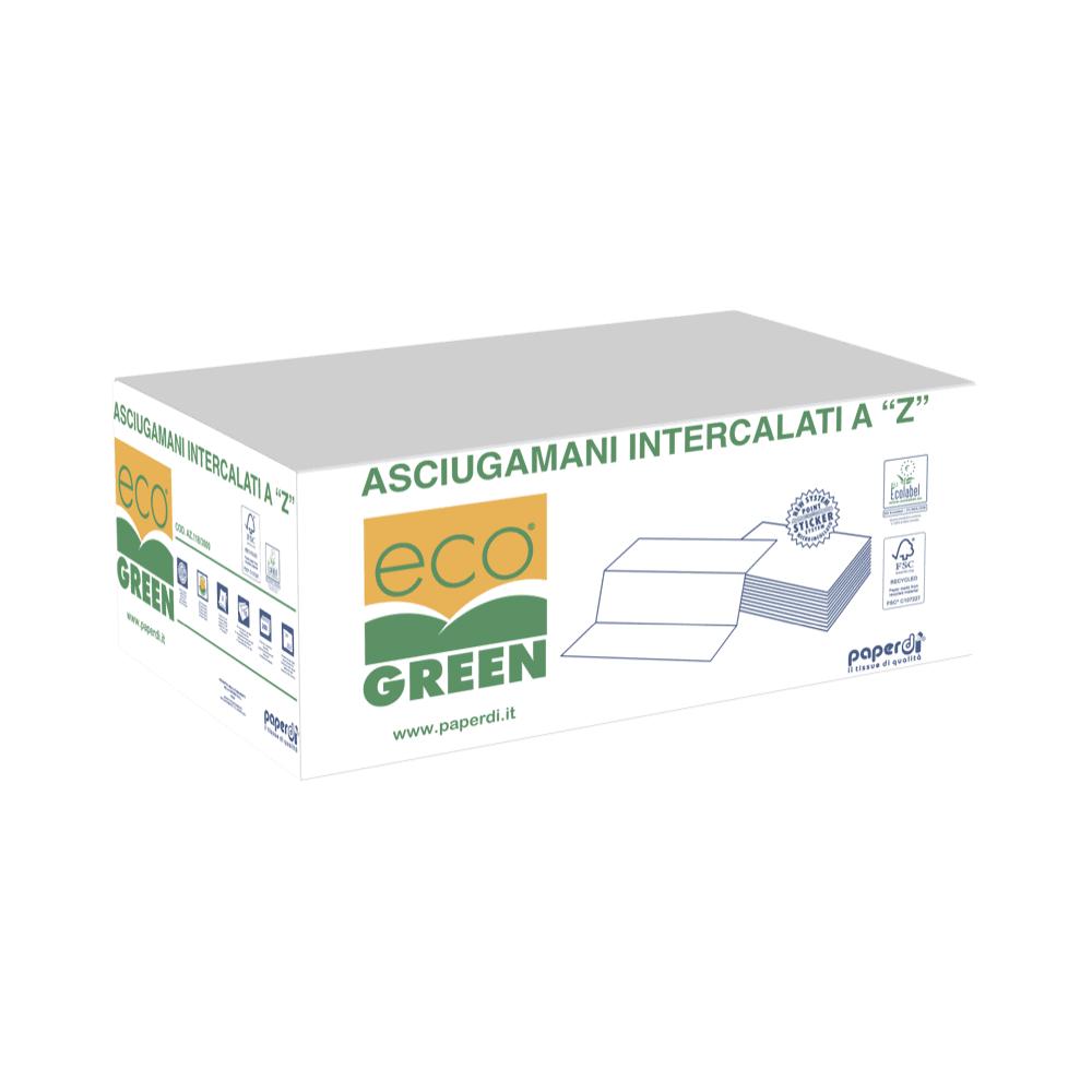 """Papirnate brisače 3000 """"Z"""" Ecogreen"""