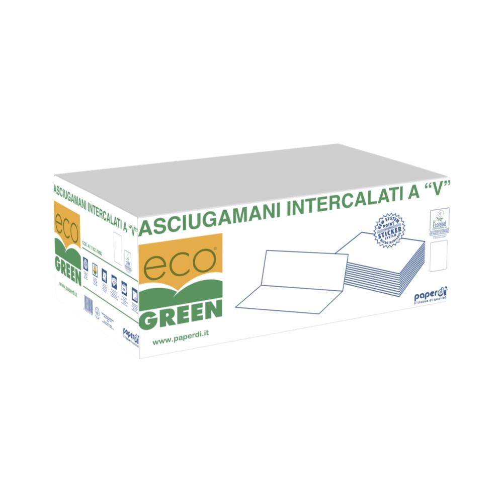 "Papirnate brisače 5000 ""V"" Ecogreen"