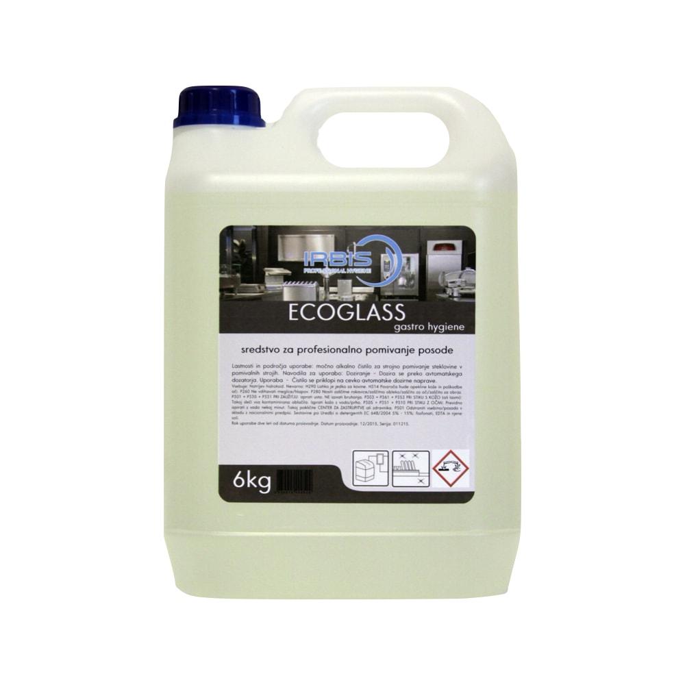Sredstvo za strojno pomivanje kozarcev Ecoglass 6 KG