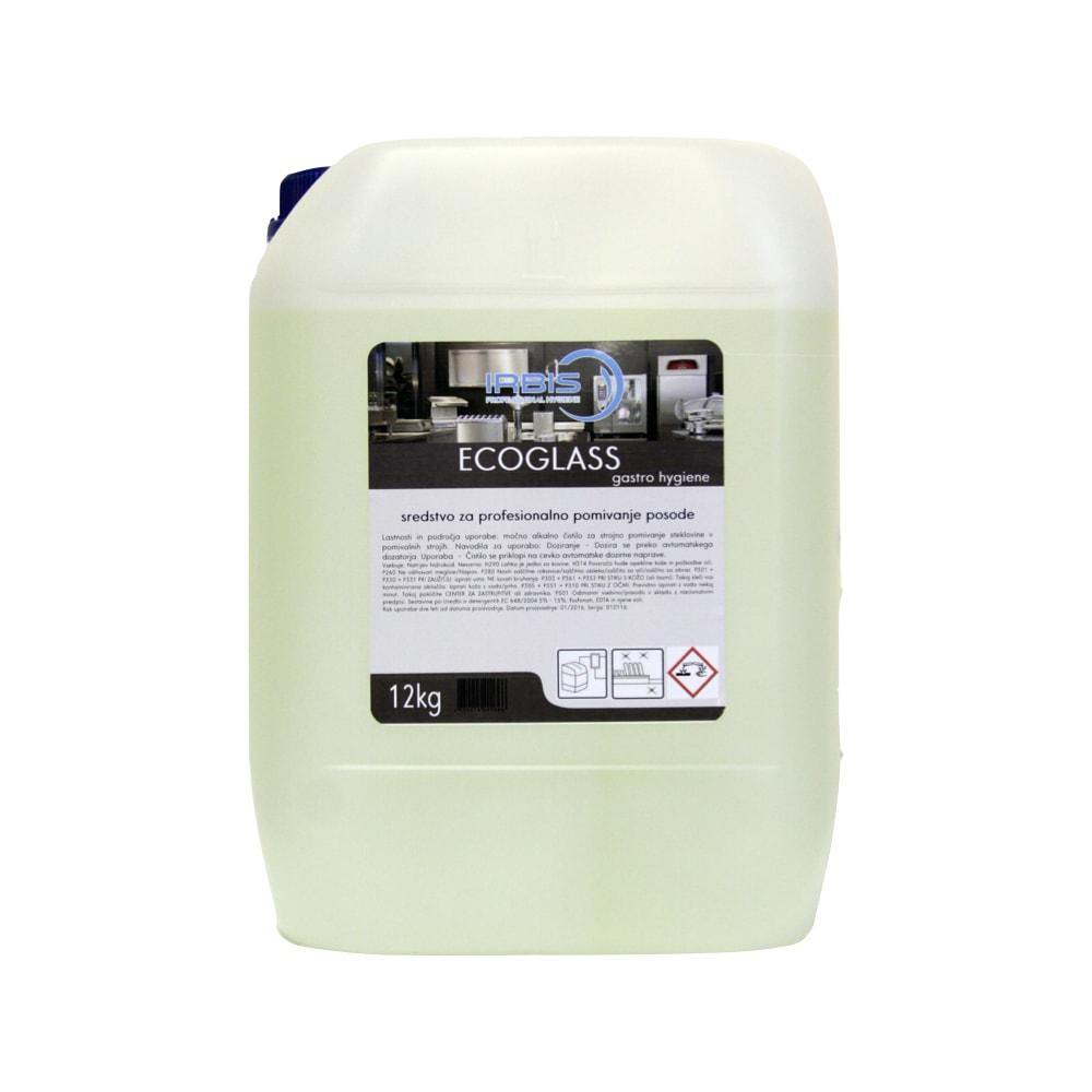 Sredstvo za strojno pomivanje kozarcev Ecoglass 12 KG