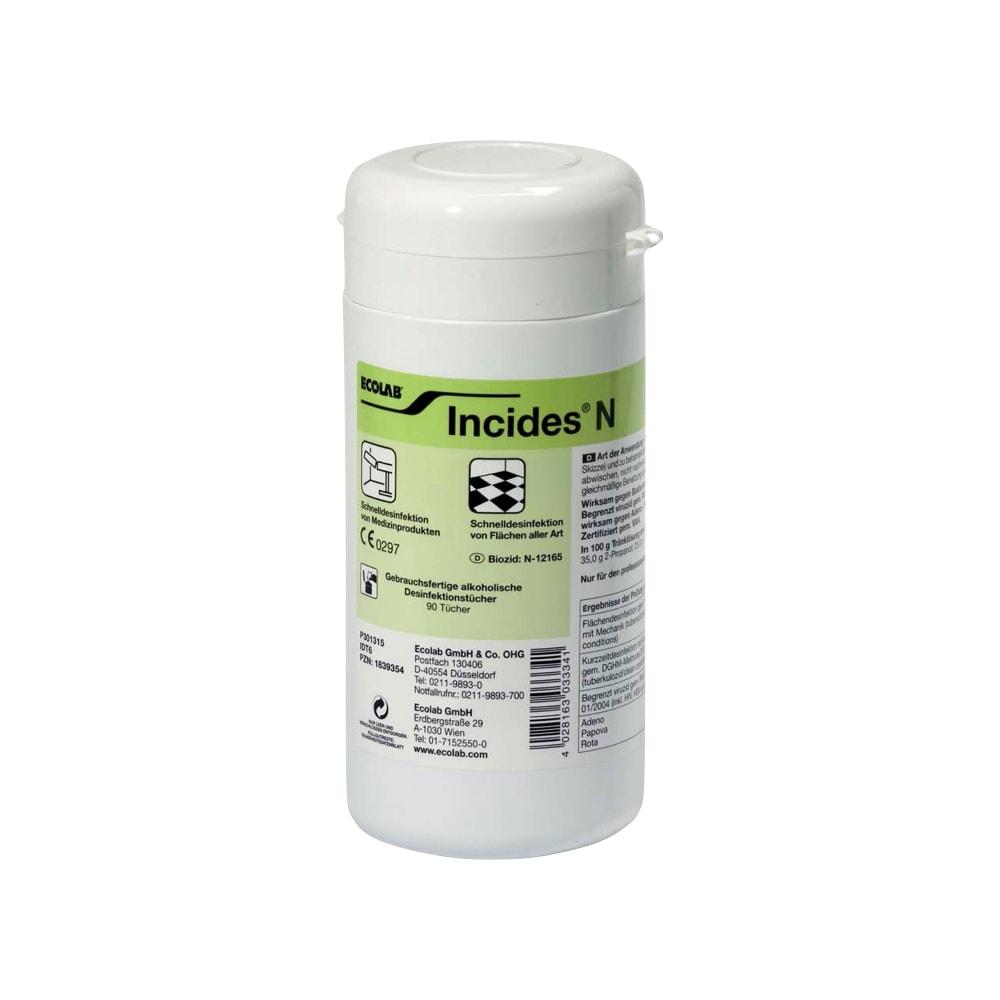Dezinfekcijski robčki Incides N Ecolab