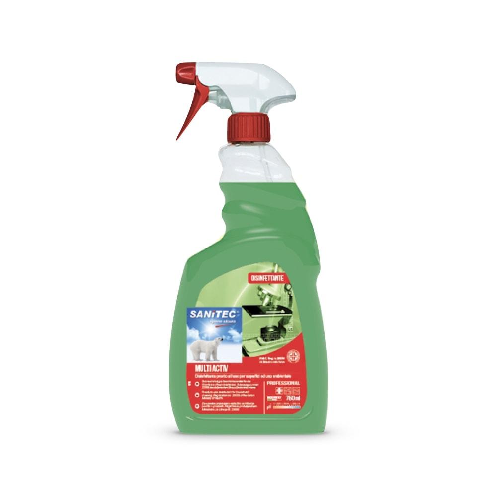 Anti-mikrobno sredstvo H.A.C.C.P. za univerzalno čiščenje Multi activ 750 ml