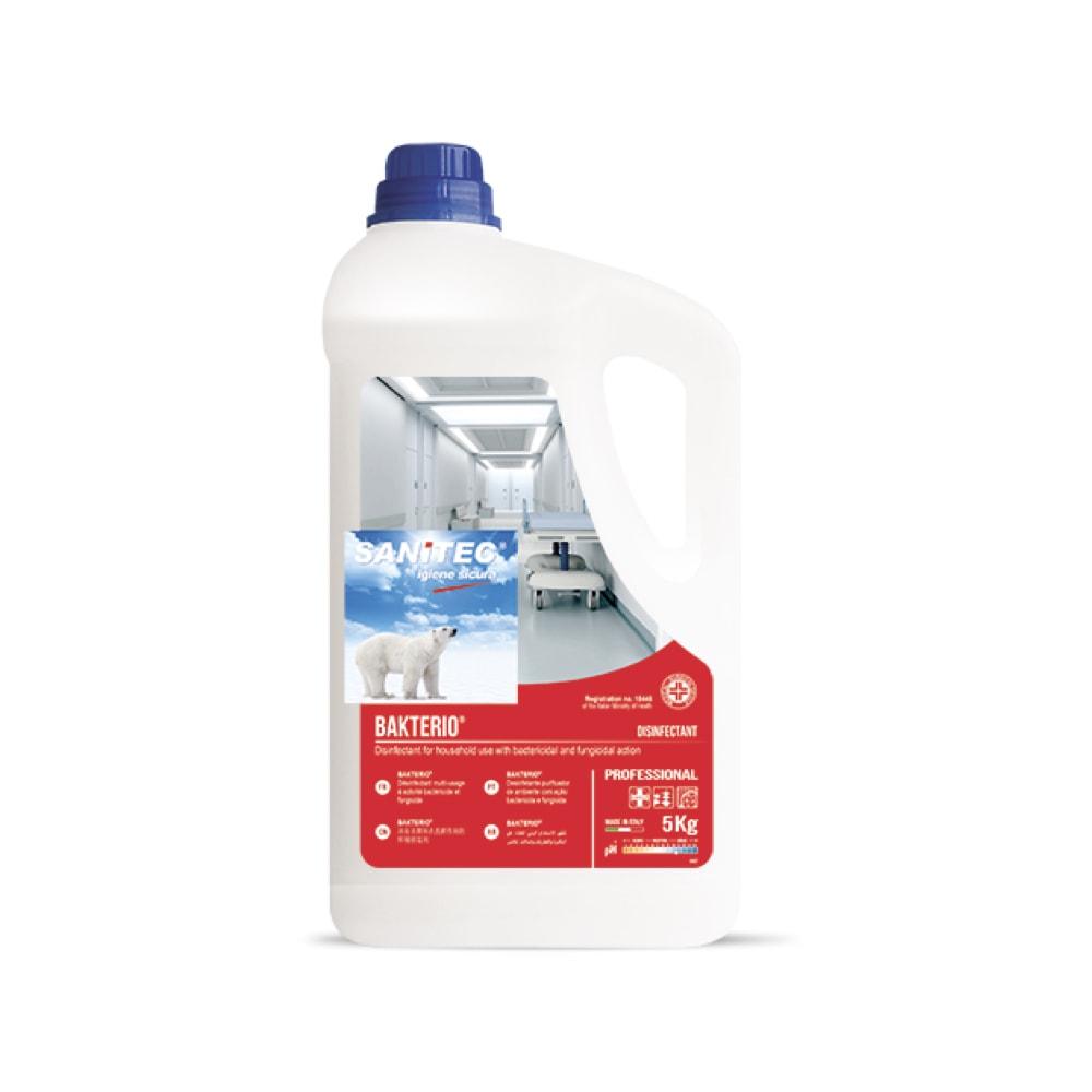 Dezinfekcijsko sredstvo za univerzalno čiščenje Bakterio 5L