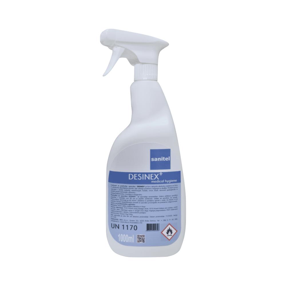 Dezinfekcijsko sredstvo za površine in opremo Desinex+ 1 L