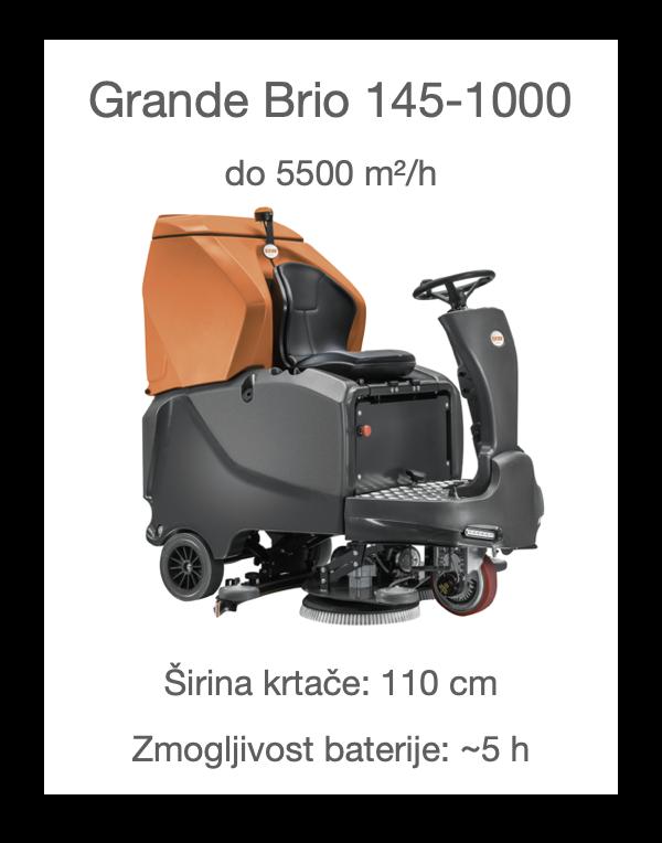 Stroj za čiščenje tal Grande Brio 145-1000