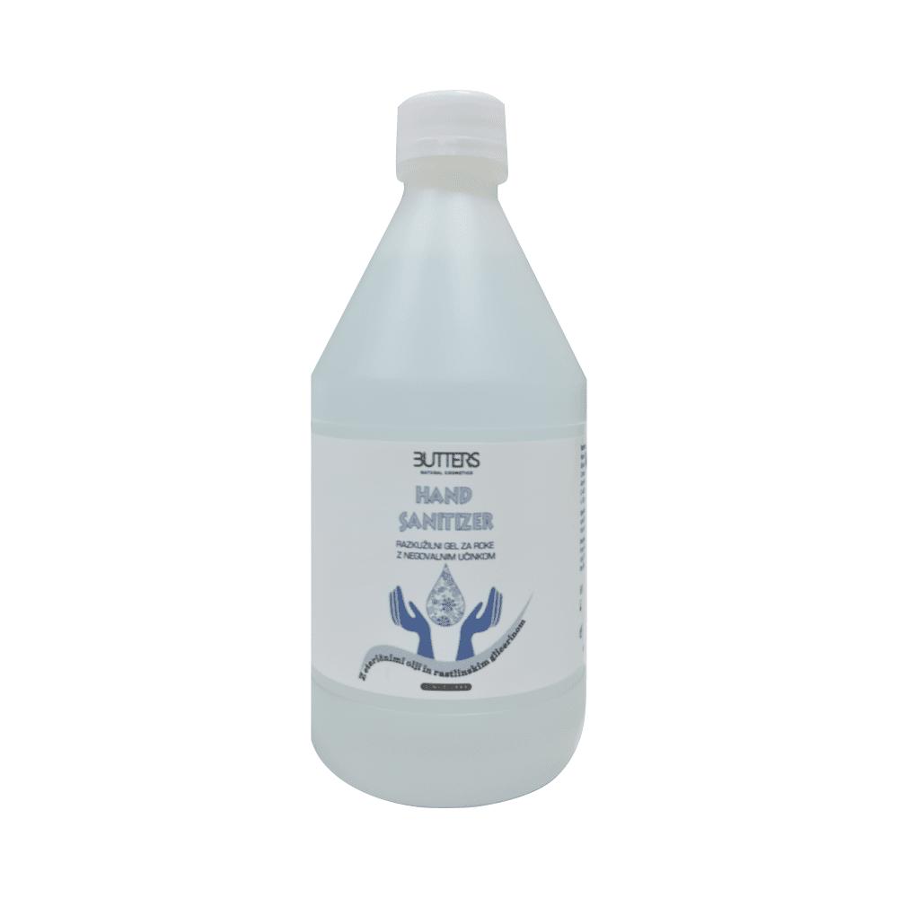 Razkužilni gel za roke eteričnim oljem Butters 500 ml