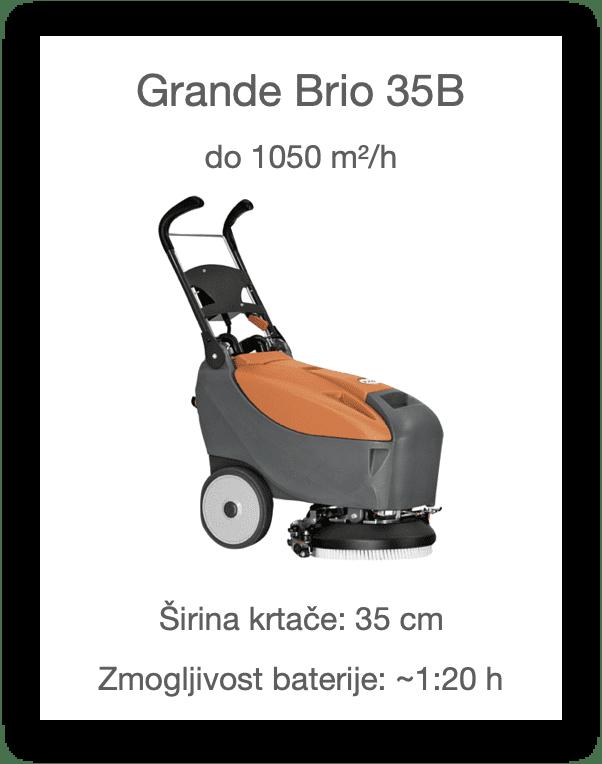 Čistilni stroj Grande Brio 35