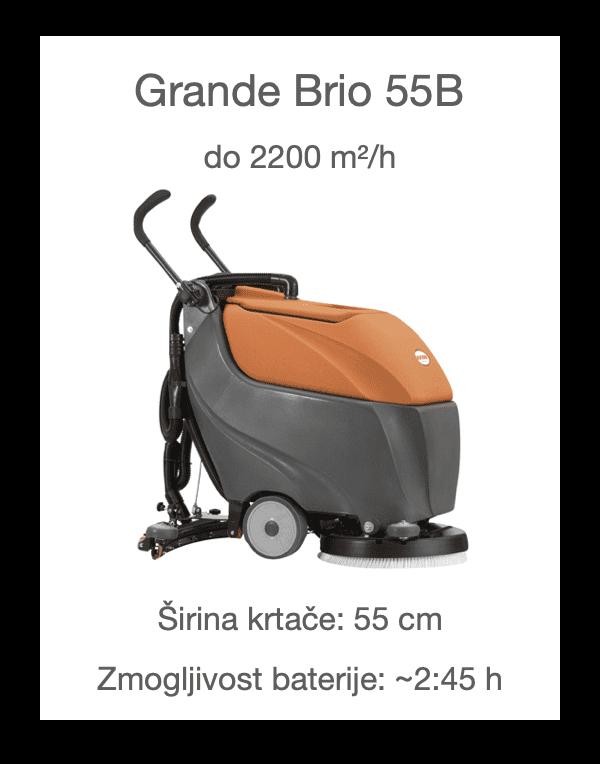 Čistilni stroj Grande Brio 45BT