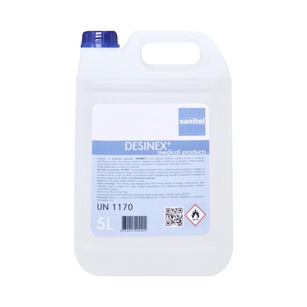 Dezinfekcijsko sredstvo za površine in opremo Desinex+ 5L