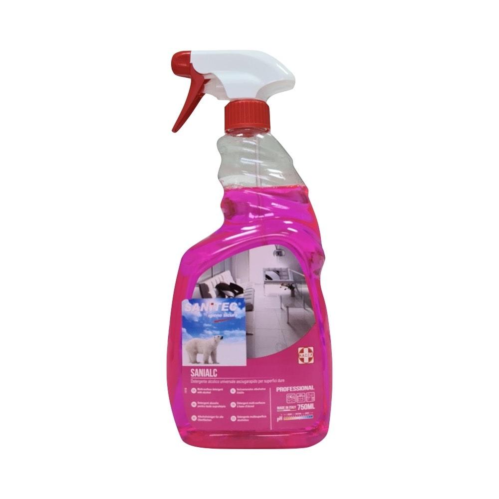 Univerzalno čistilo na alkoholni osnovi Sanialc Sanitec 750 ml