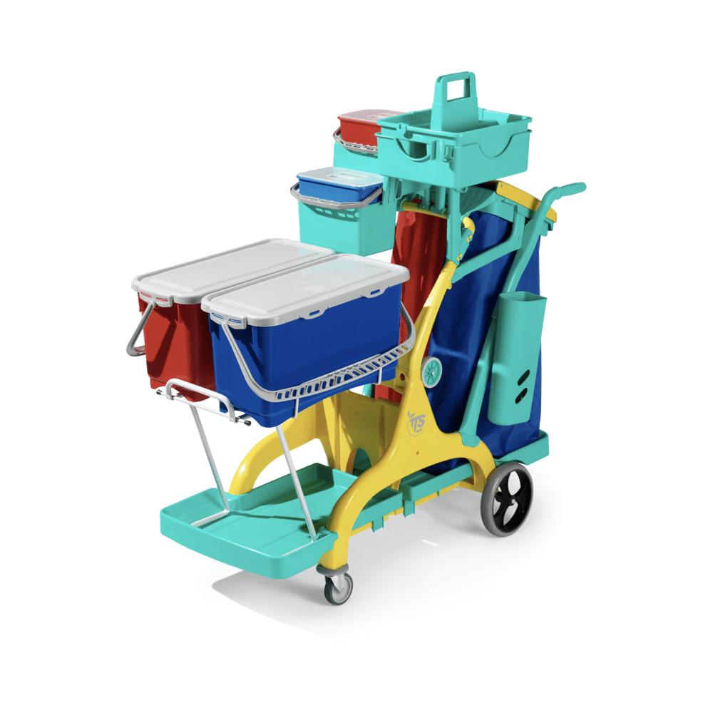 Voziček za čiščenje Nick Star Healthcare 2000 TTS