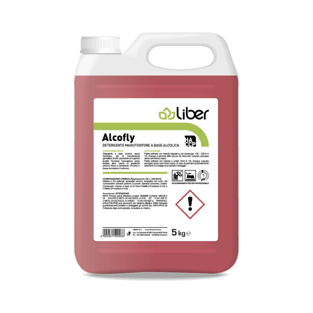 Čistilo za tla ALCOFLY na alkoholni osnovi 5 kg