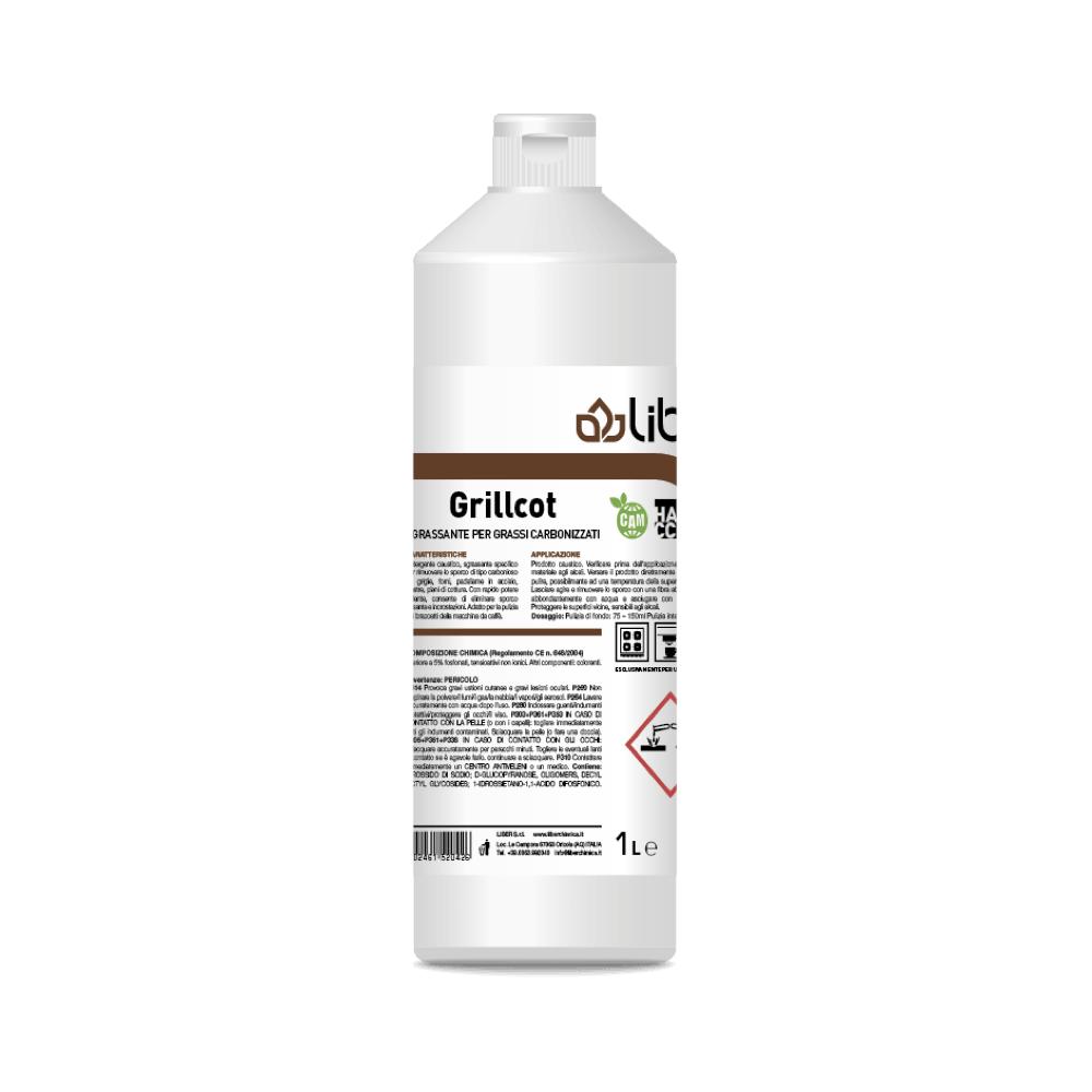 Čistilo za odstranjevanje karbonirane umazanije GRILLCOT 1 L