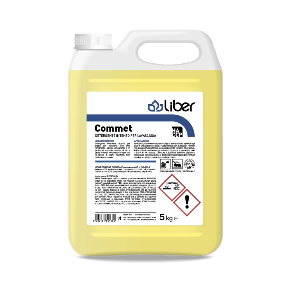 Industrijsko čistilo za tla COMMET 5 kg
