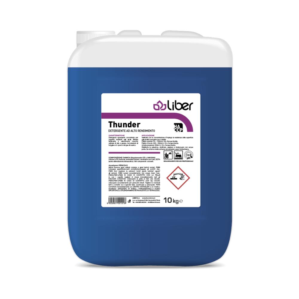 Visoko učinkoviti razmaščevalec tal THUNDER 10 kg