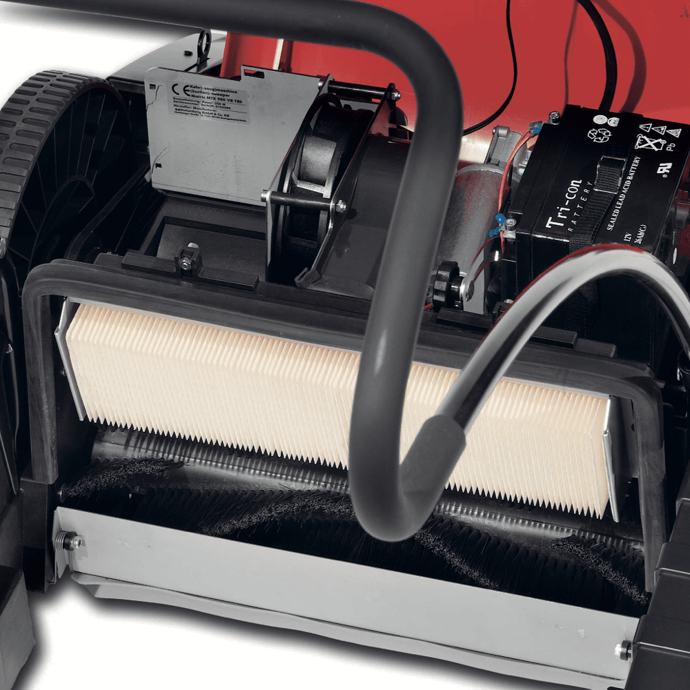 Pometač Matrix 900 V TRS z vakumskim motorjem (do 2000 m²)
