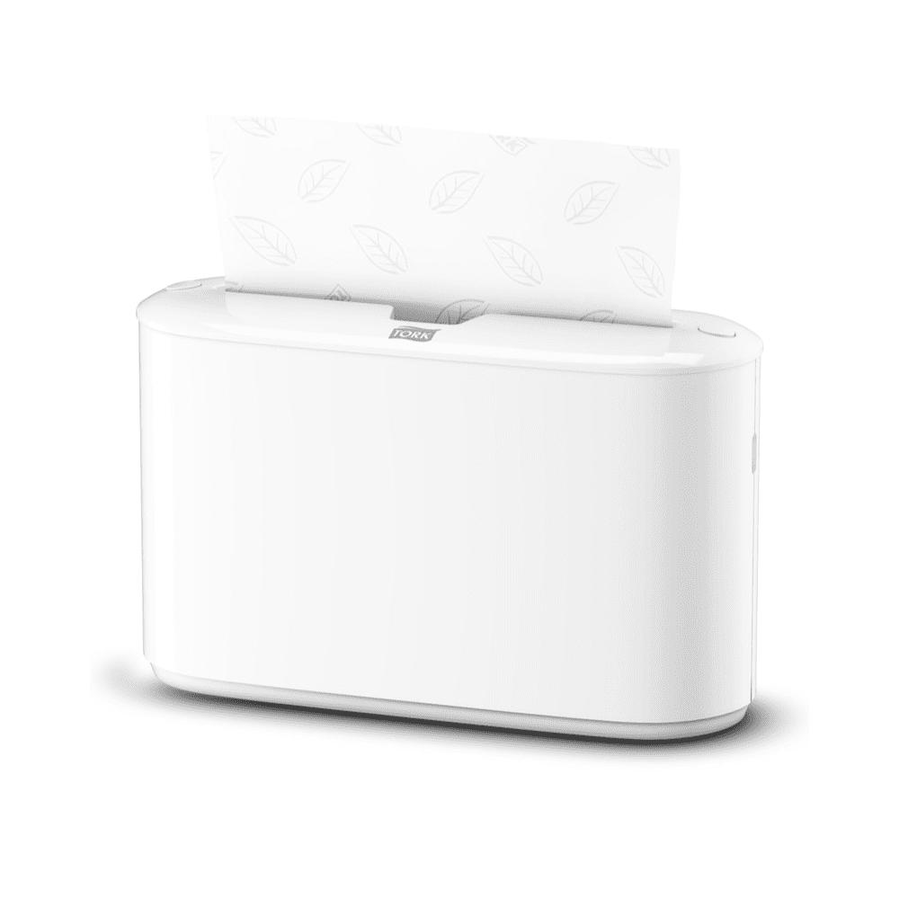 Namizni podajalnik zloženih brisač Tork H2