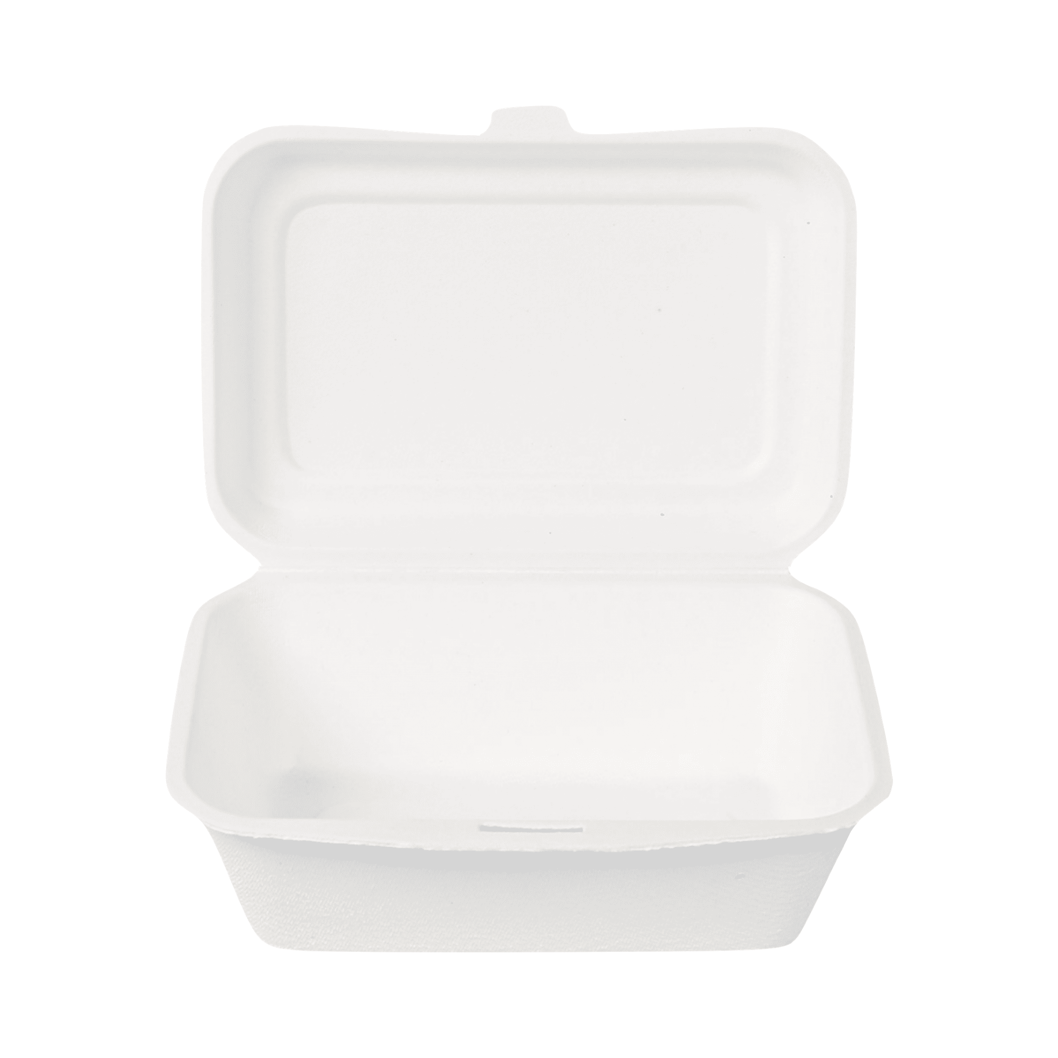 Biorazgradljiva posodica LunchBox | sladkorni trs | 13,5 x 18,5 x 6,5 | 50/1