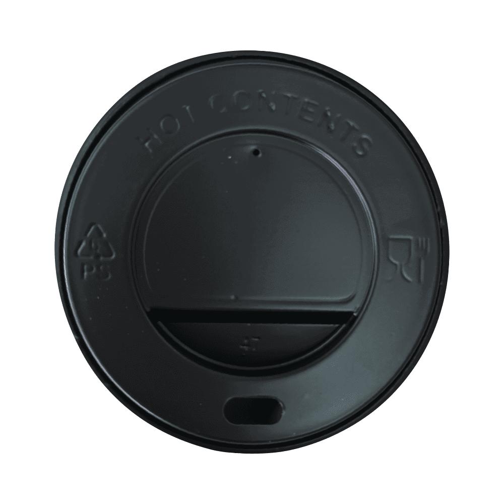 Pokrovček za Lonček Črn | ⌀ 8 cm | 100/1