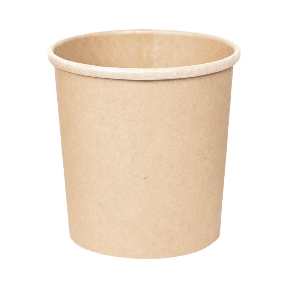 Biorazgradljiva posodica iz kraft papirja 500 ml