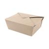 Biorazgradljiva embalaža //Biorazgradljiva posodica iz kraft papirja LunchBox XL 1600 ml