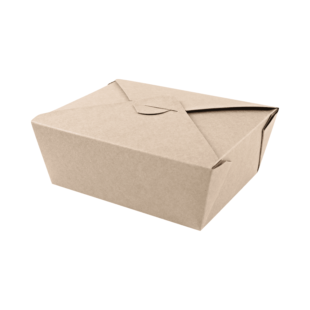 Biorazgradljiva posodica iz kraft papirja LunchBox XL 1600 ml
